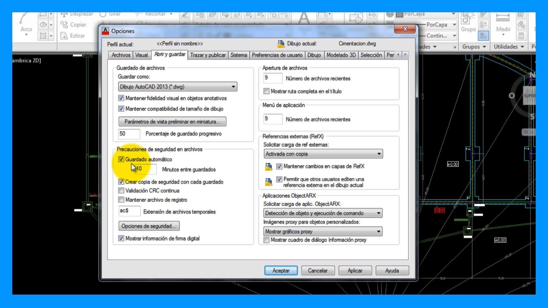 Soluci n de problemas en autocad archivos saber programas for Archivos de cad