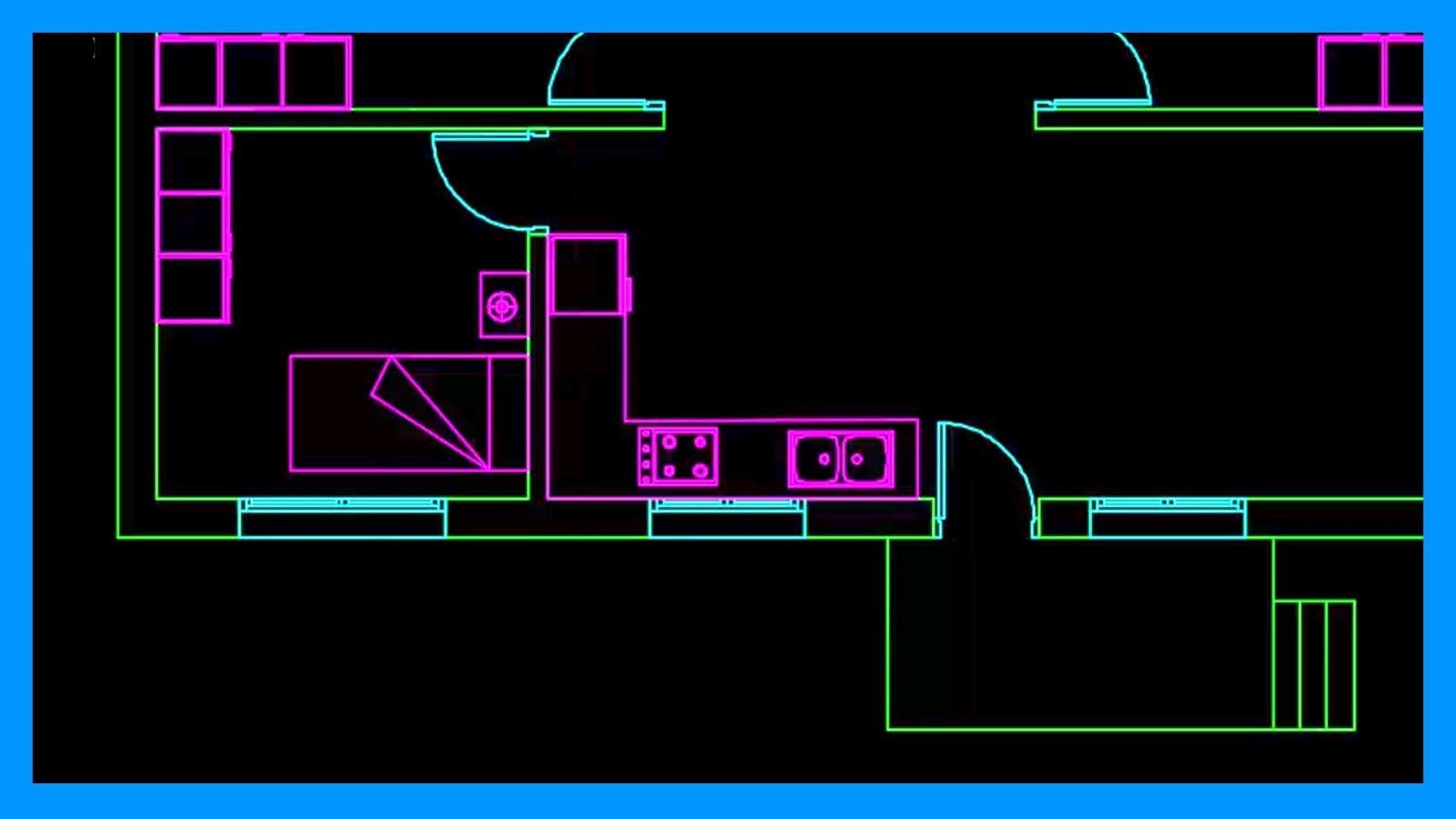 Autocad 2 2 Dibujar Plano De Una Casa De Una Planta En
