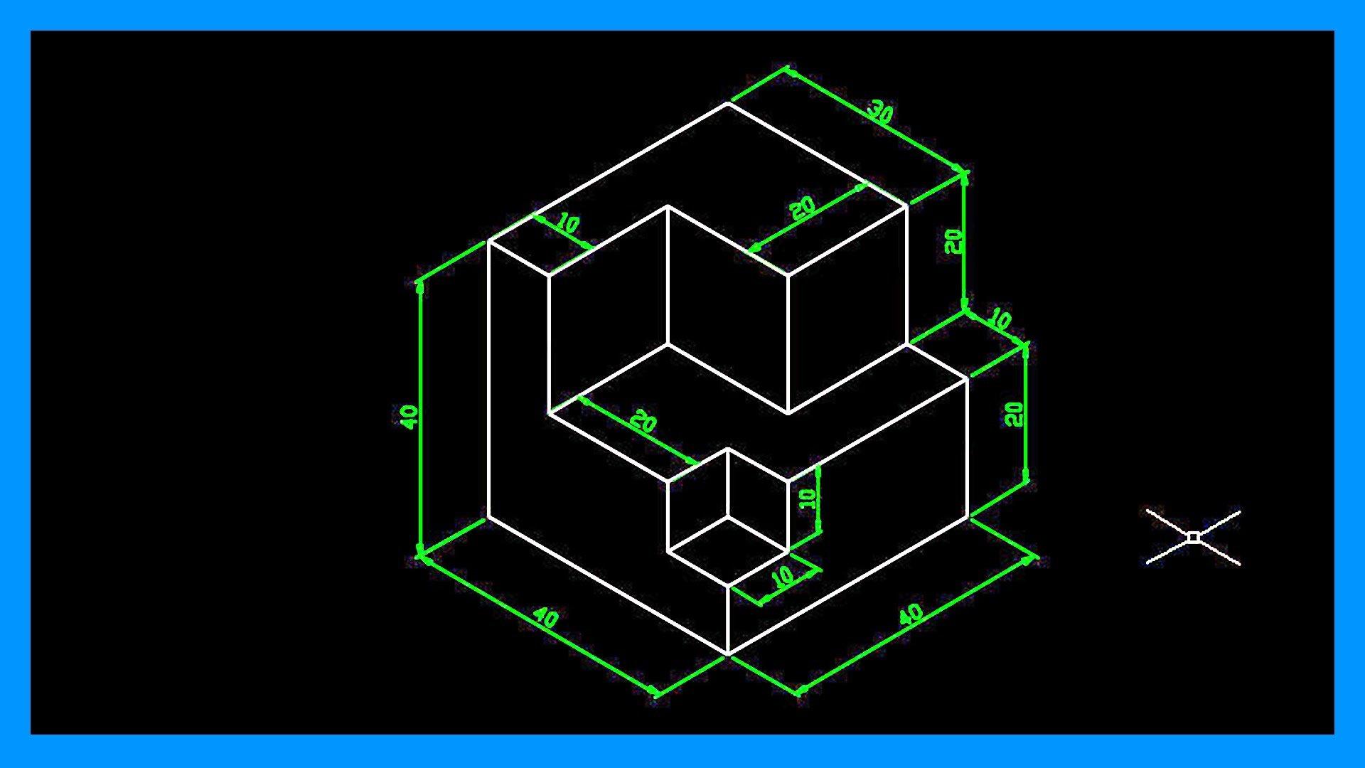 Autocad dibujar en isom trico crear dibujo isom trico for Dibujar un mueble en 3d