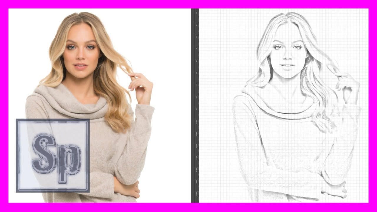 Dibujos Para Photoshop: Pasar De Foto A Dibujo En Photoshop